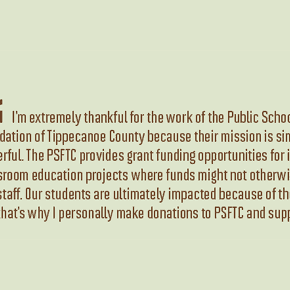 Celebrating PSFTC and 30 Years of Giving - TSC