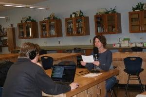Michelle Coors, Harrison High School teacher and Ski Anderson, Artistic Media